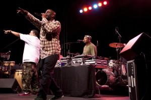 I De La Soul, una delle pietre miliari del rap statunitense.