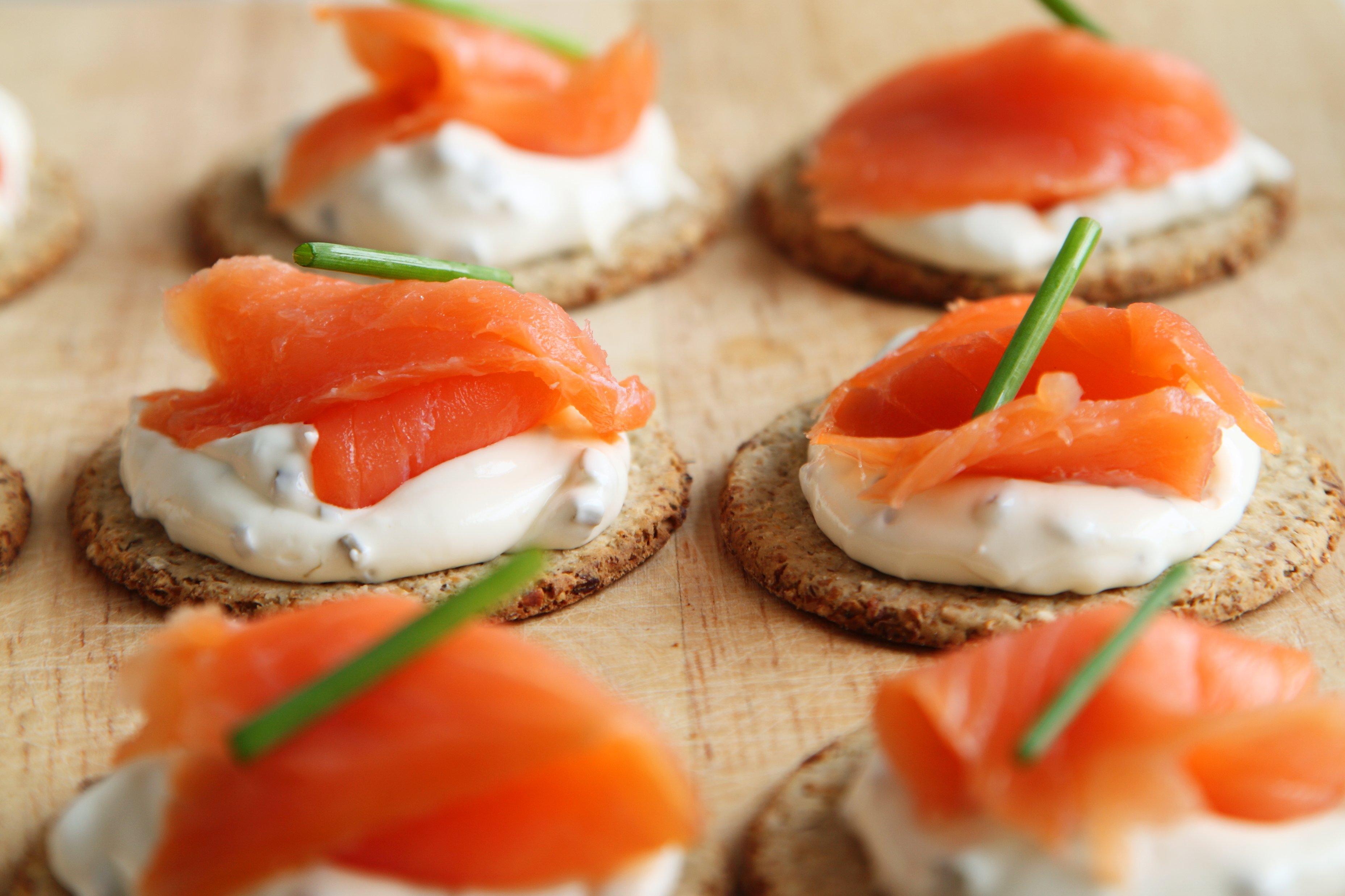 salmone cibo