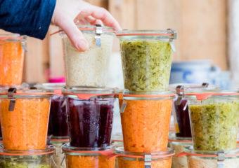 verdure latto-fermentate