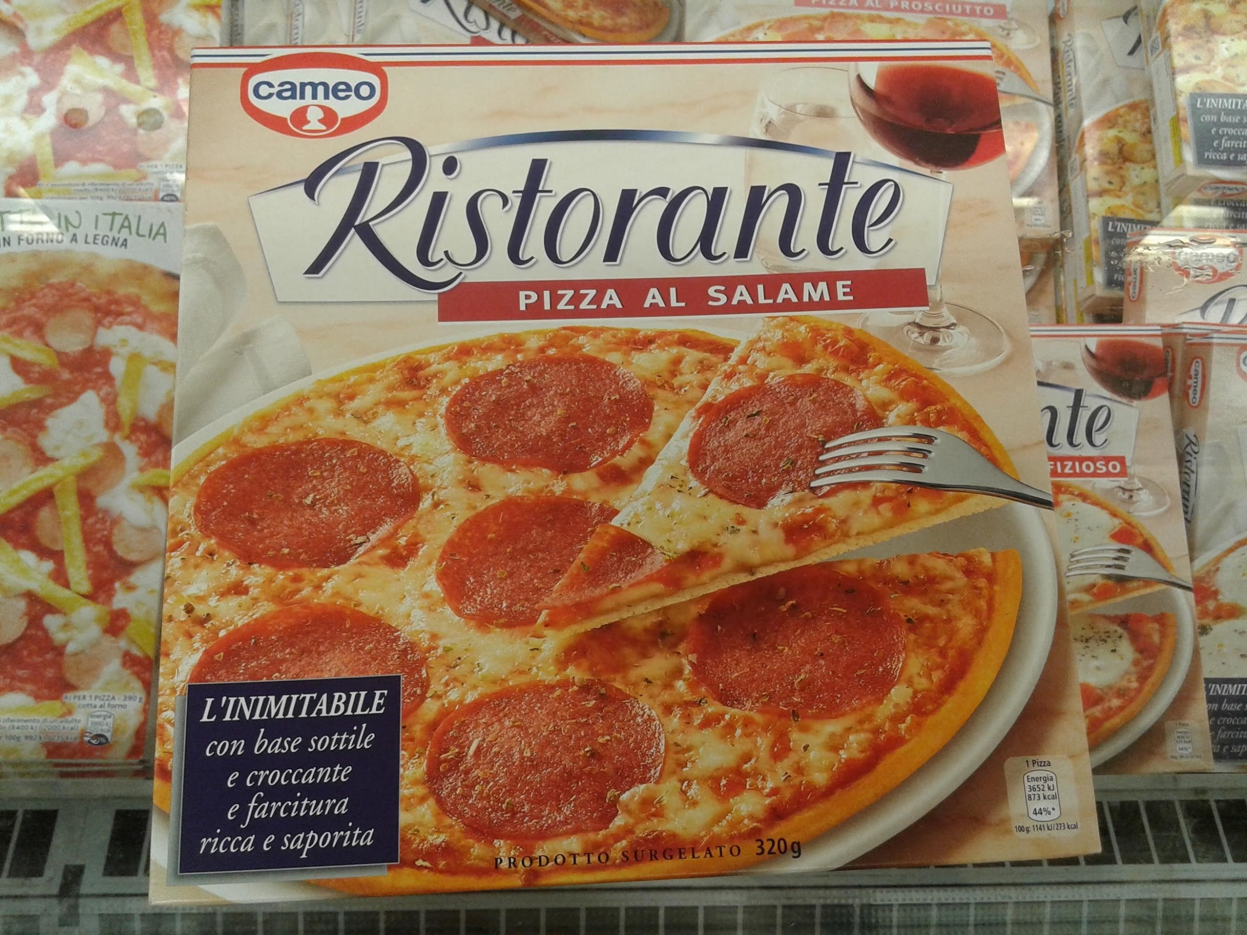 pizza industriale