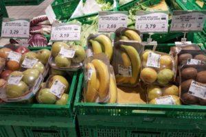 svesti la frutta