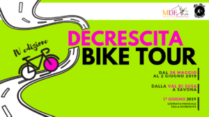 decrescita bike tour