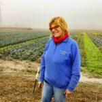 Antonietta davanti ai suoi campi