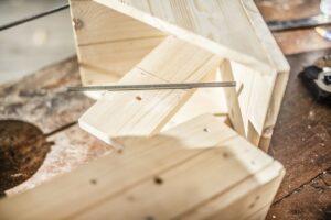 parti in legno