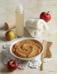 crema preparata con le mele