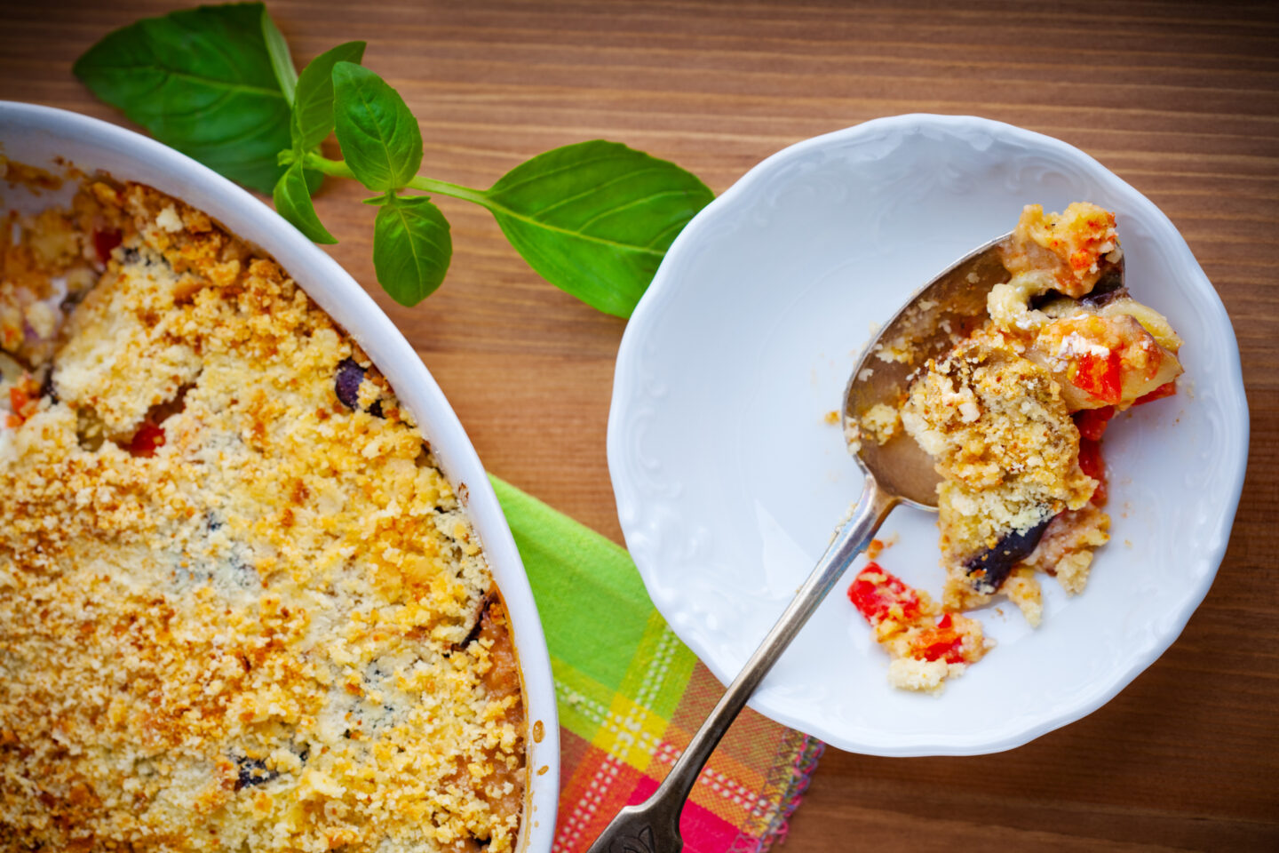 crumble vegetale