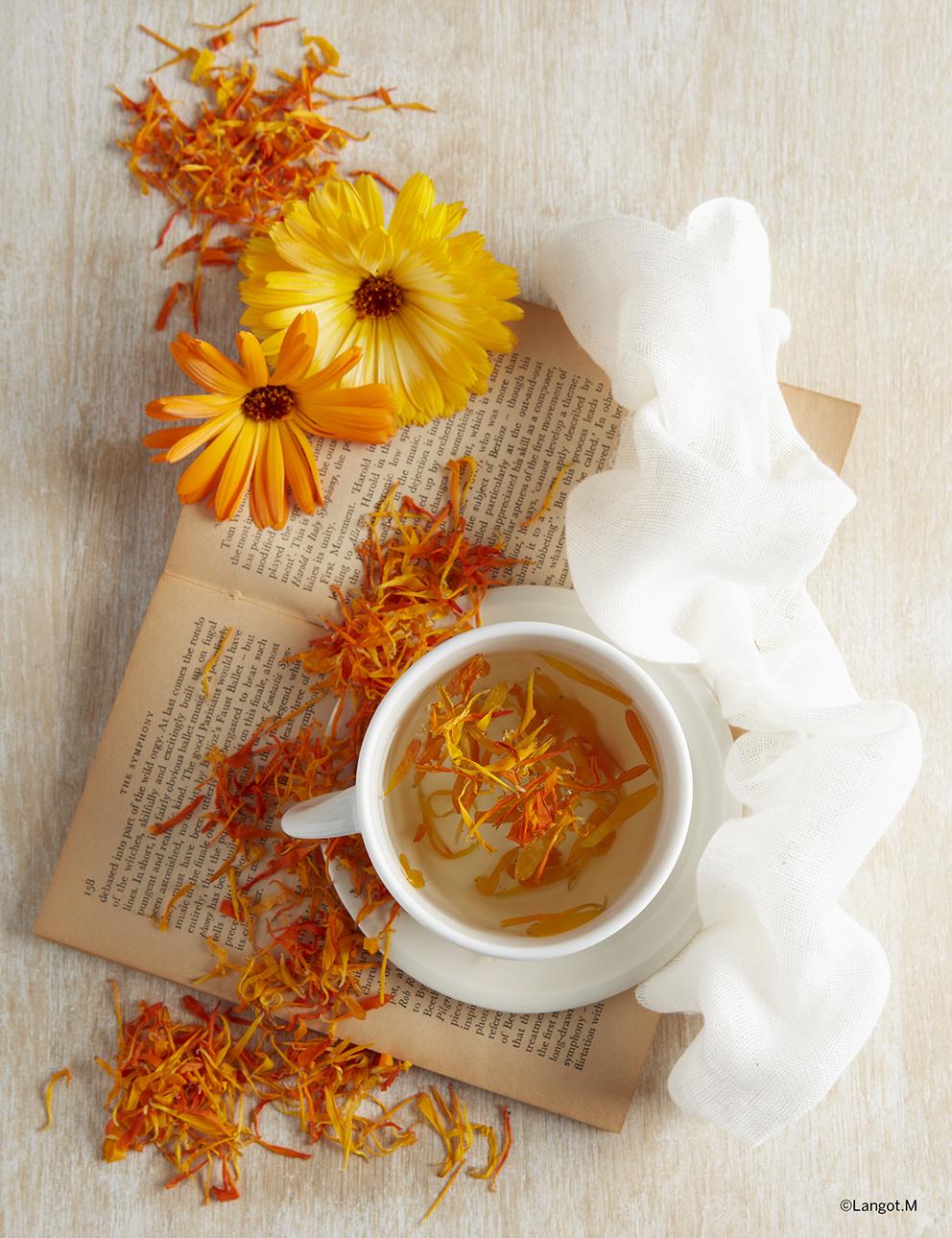 fiori calendula secchi