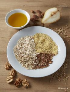 cereali nel piatto