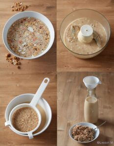 latte vegetale e cerali
