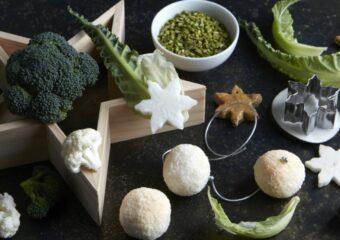 decorazioni biscotti frutta verdura