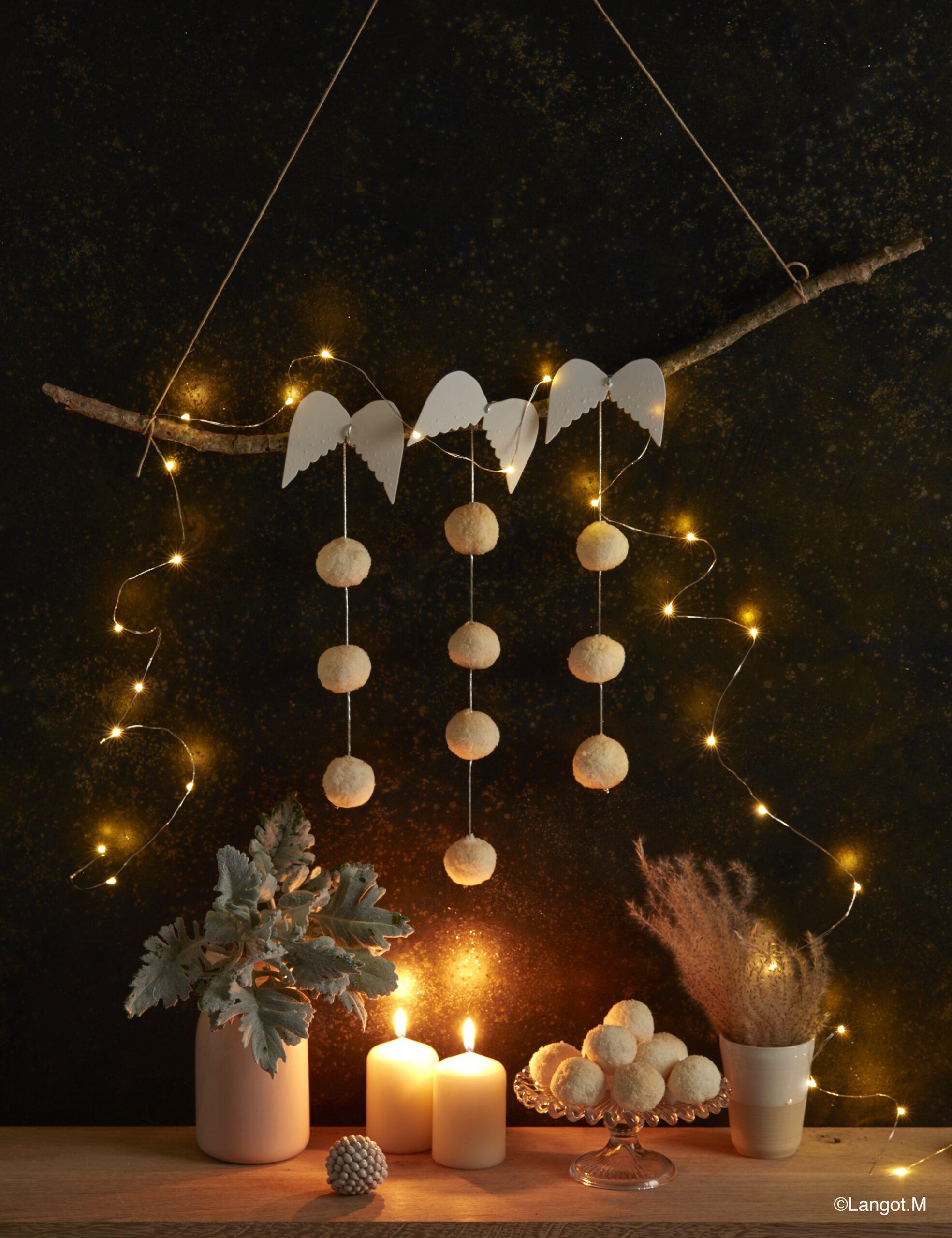 decorazione candele tavola