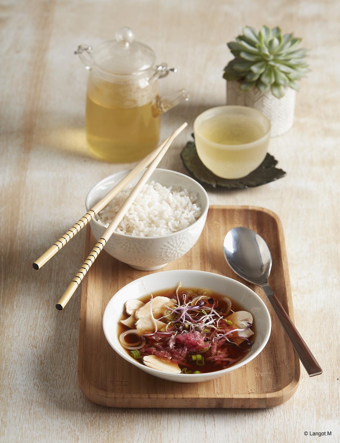 colazione riso verdure alghe okinowa